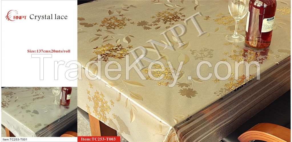 table cloth(crystal lace)