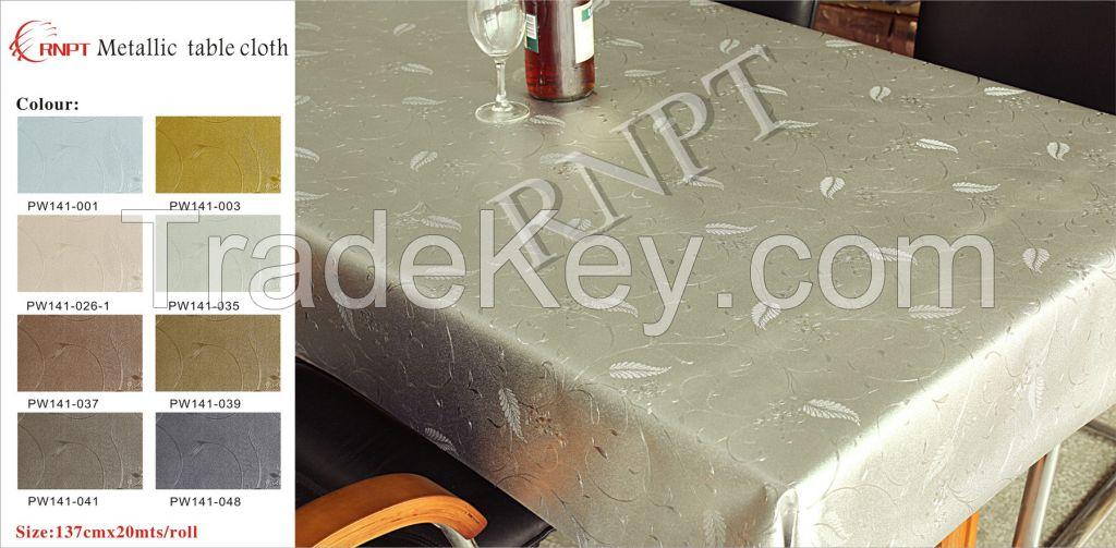 table cloth(brush metallic)