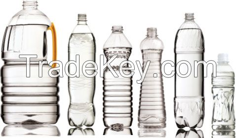 PET preforms, bottle, closures