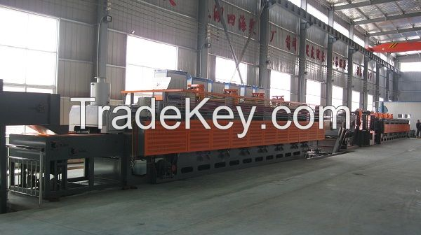 1.Continuous Mesh-belt and Quenching Furnace/hardening furnace/tempering furnace
