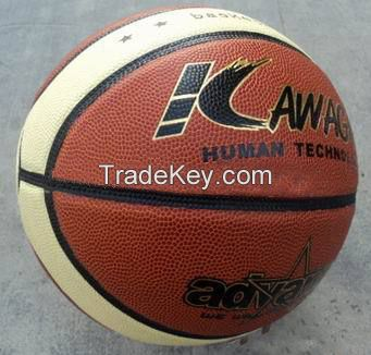 Pu leather basketball