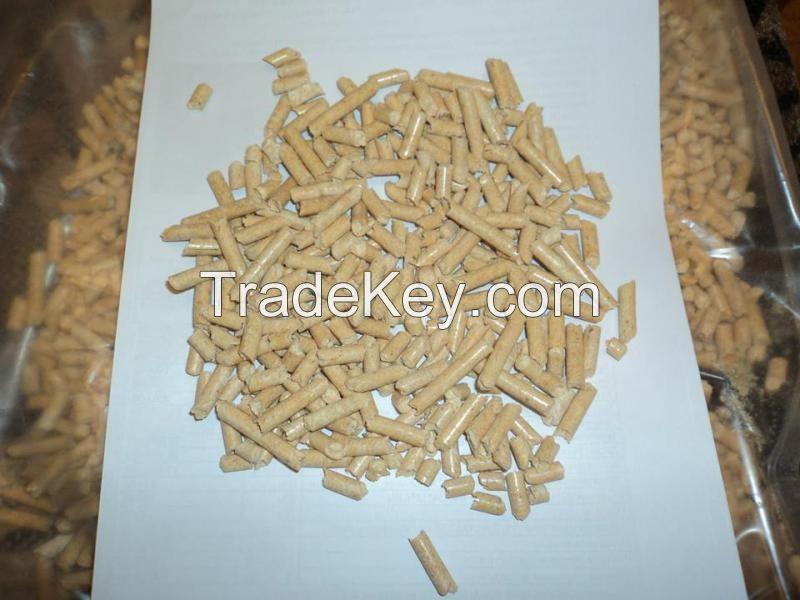 6-mm pure fir wood pellets