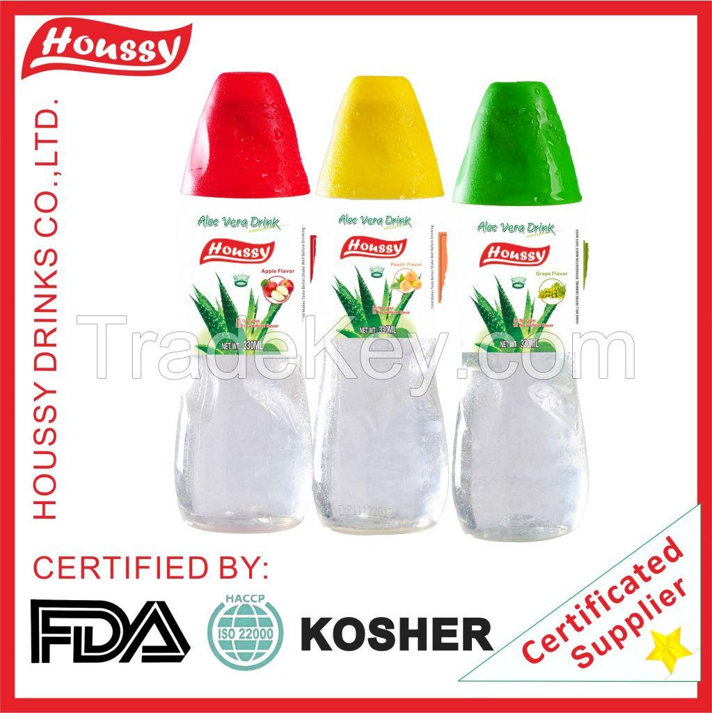 Aloe Vera No Color Kosher Juice with Aloe Fruit Big Pulp