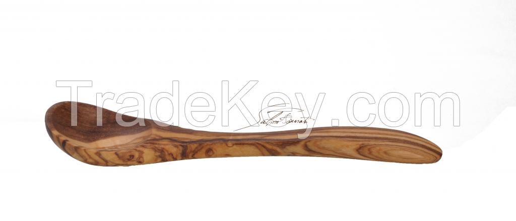 Olive wood spoon