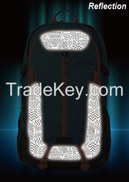 GB7000; REFLECTIVE TEXTILE with graphic pattern