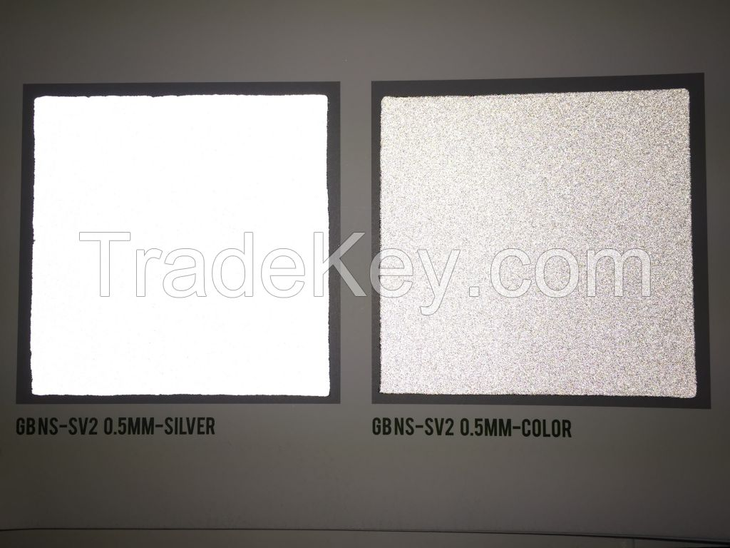 GB NS-SV2 ; REFLECTIVE MATERIAL with Hotmelt Film
