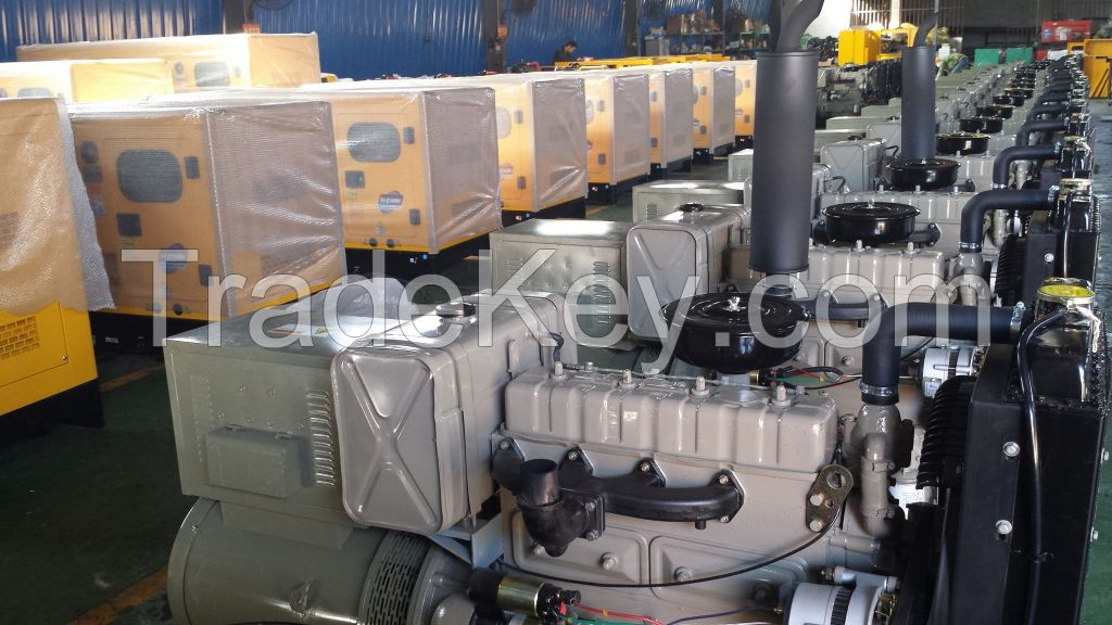 Recardo series diesel generator open or silent type