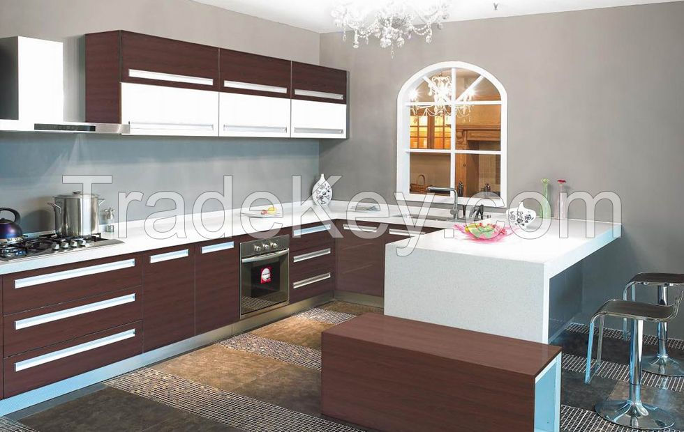 High End China Manufacturer Acrylic Kitchen Cabinets Rattan Colored Island Sale Fafor By Zhuv China