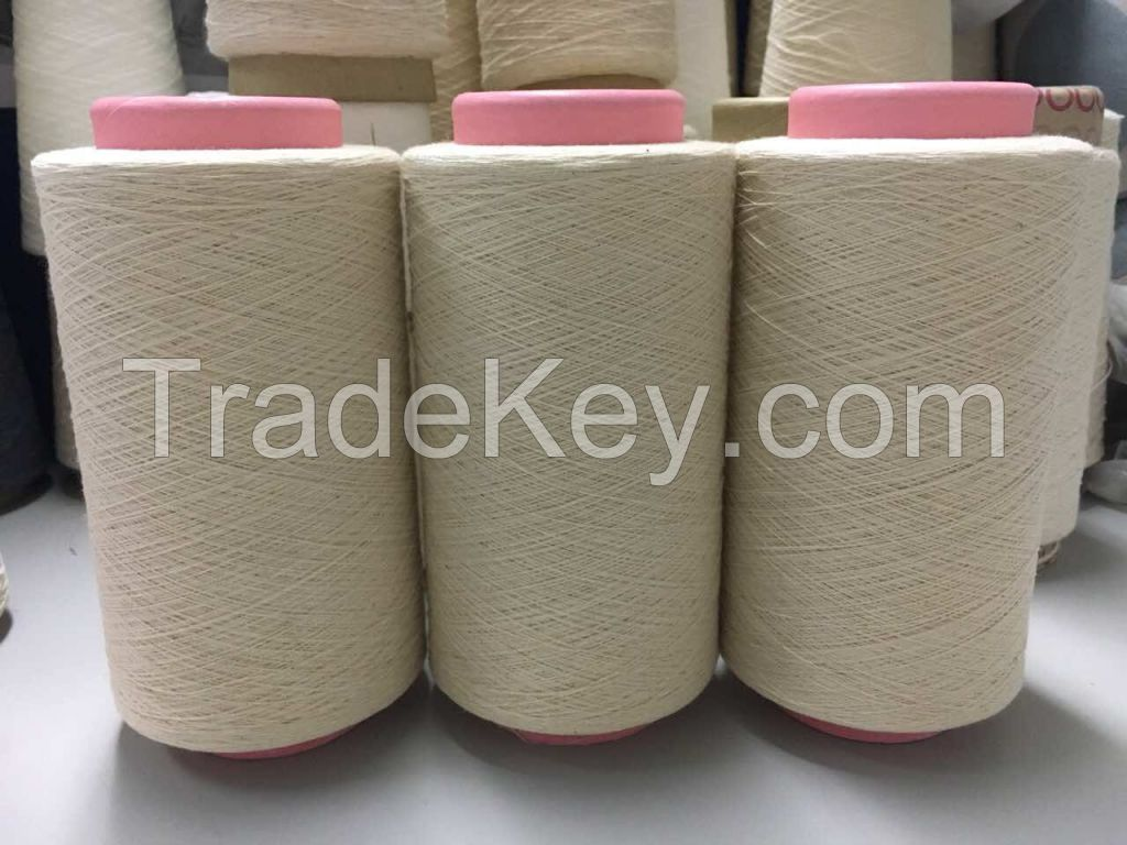 combed and carded yarn