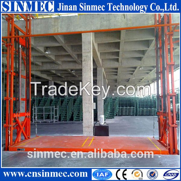 Lead Rail Lift Platform