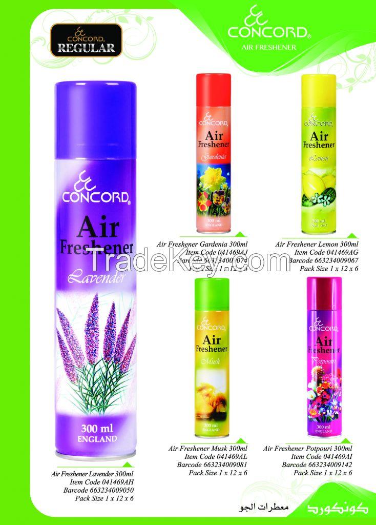 concord room spray