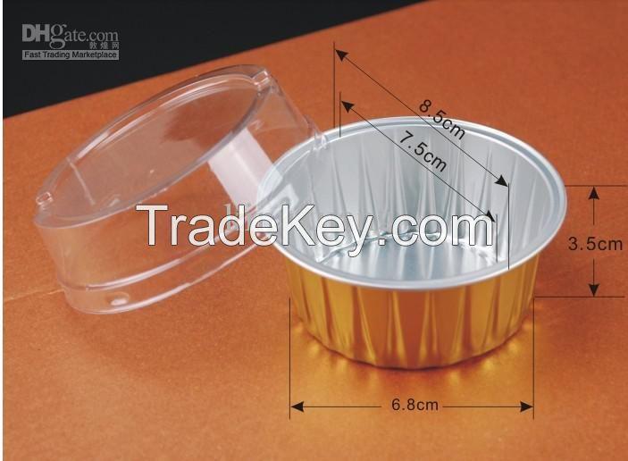 Aluminium foil broiler pan/aluminium foil food container