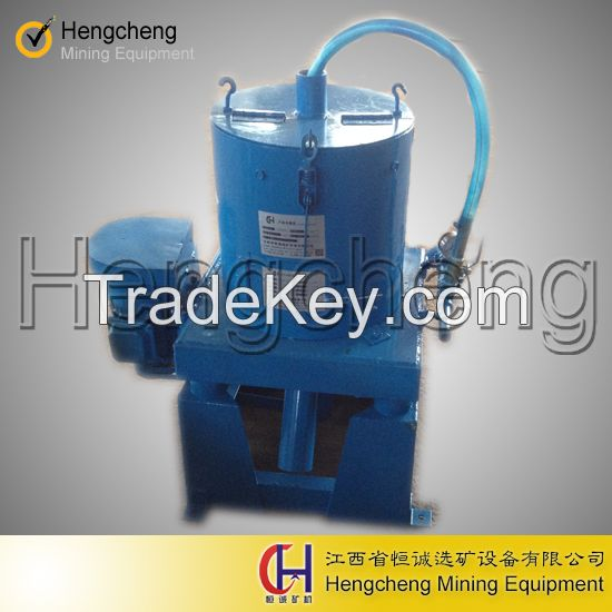 Low water knelson concentrator mobile gold concentrator