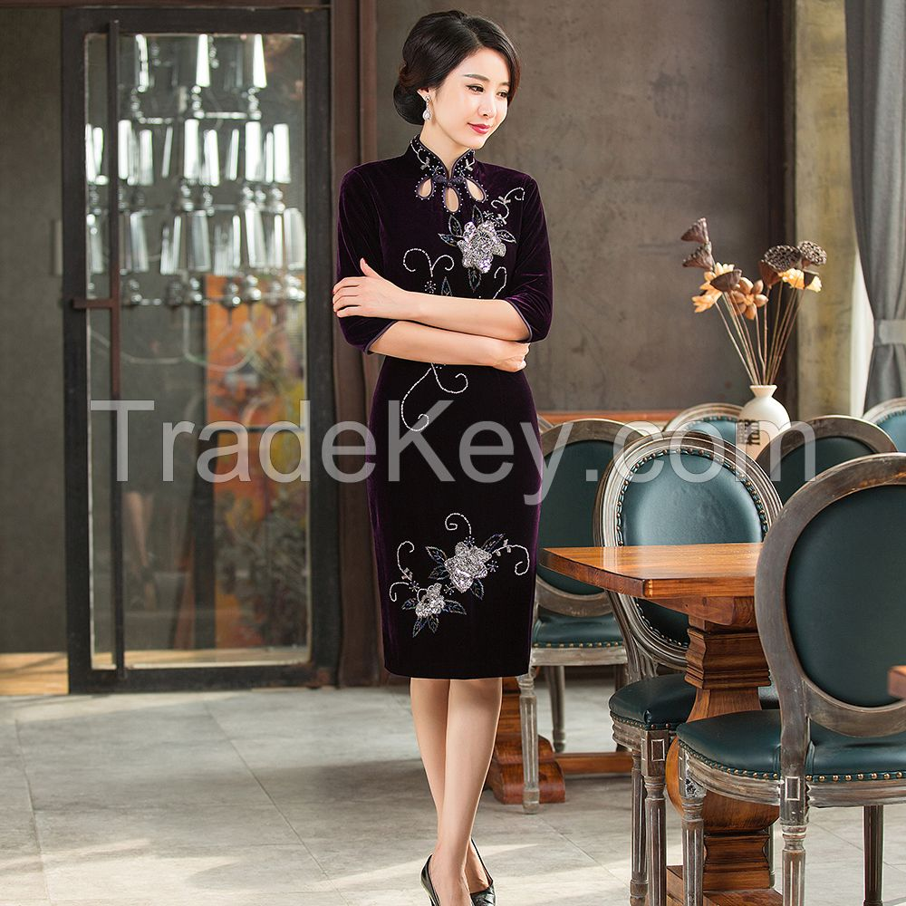 NEW STYLE TRADITIONAL DRESS QIPAO