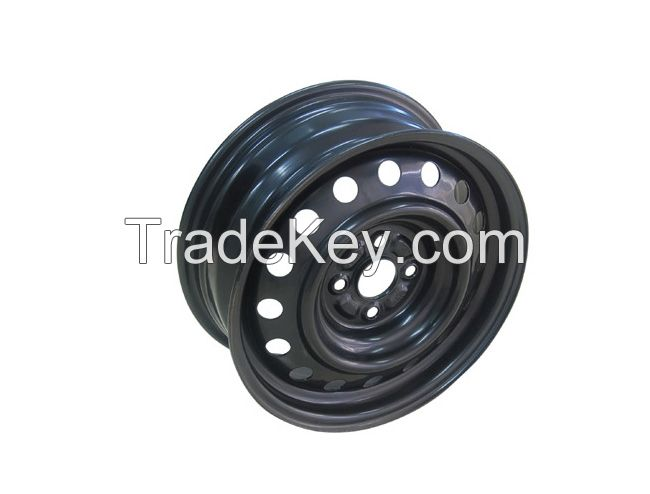 Hanvos North America and russia Steel Passenger Car Wheels with good   performance