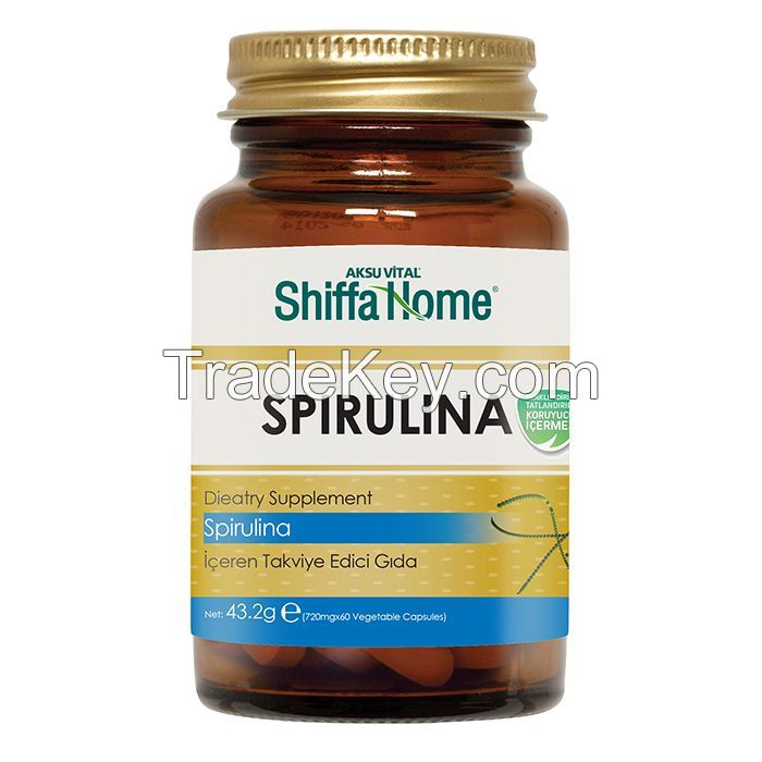 Spirulina Capsule Health Care Products Diet Supplement Herbal Slimming Pills