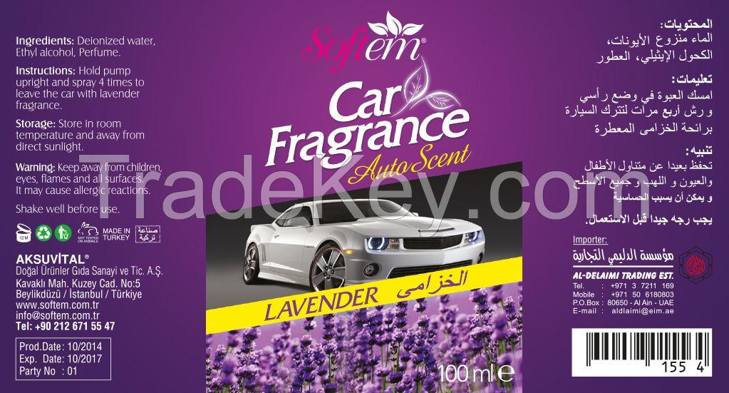 Air Freshener Spray Lavender Flower Scented