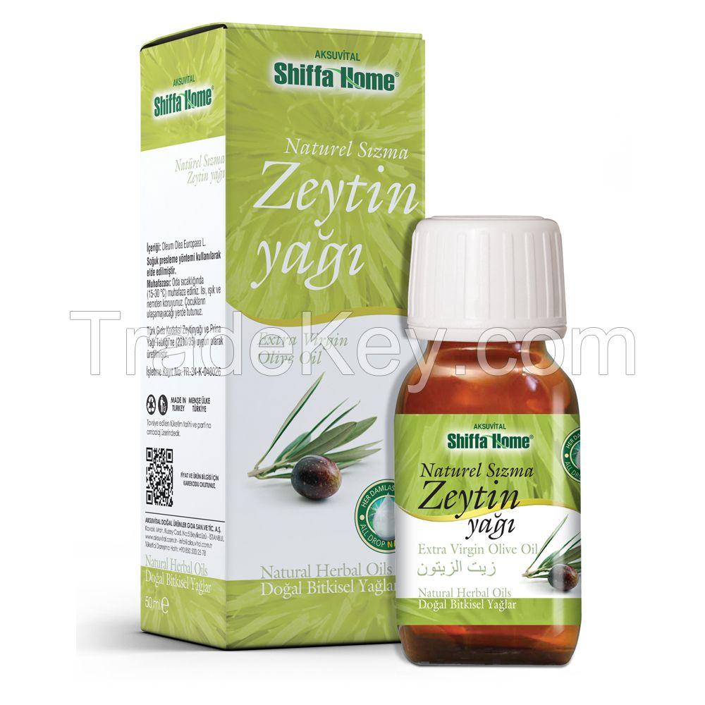Natural Extra Virgin Olive Oil Price / 50 ml Glass Bottle Olive Oil / Turkish Olive Oil