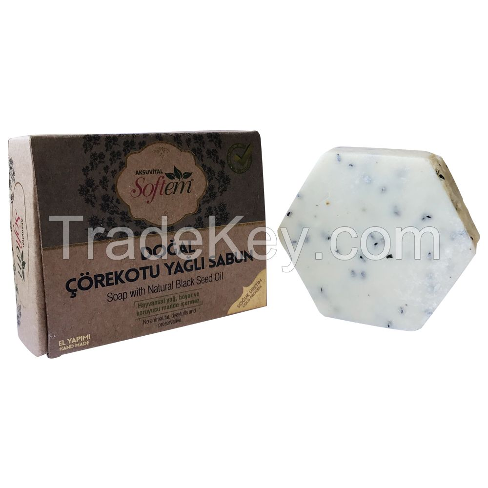 Nigella Black Seed Oil Based Beauty Soap