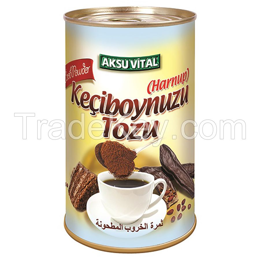 Ground Carob Powder 200 gr Health Food for cough/flu Asthma Herbal Anemia Support