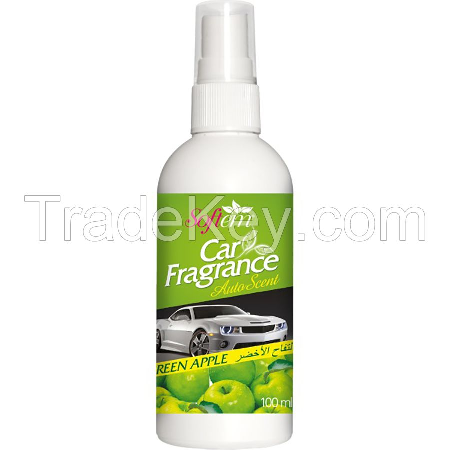 Air Freshener for Car / Auto Scent with Green Apple / Spray Car Air Freshener