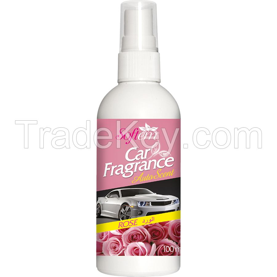 Air Freshener for Car / Auto Scent with Rose Oil / Spray Car Air Freshener