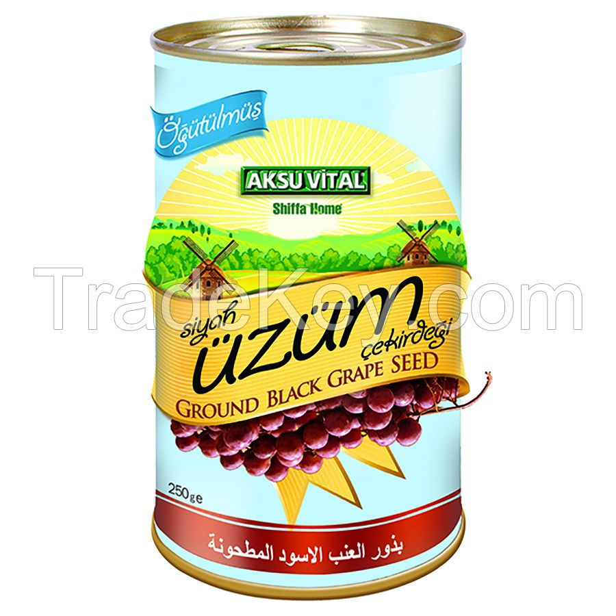 Ground Grape Seed Health Food Product