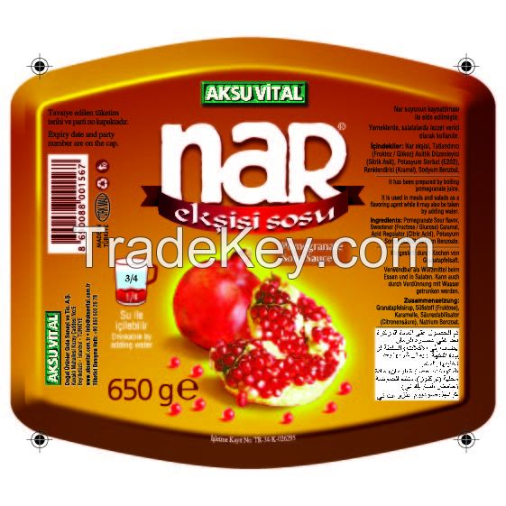 100 % Pure Pomegranate Sauce