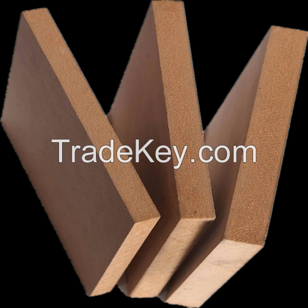 Raw mdf 1830 x 2135mm from china factory