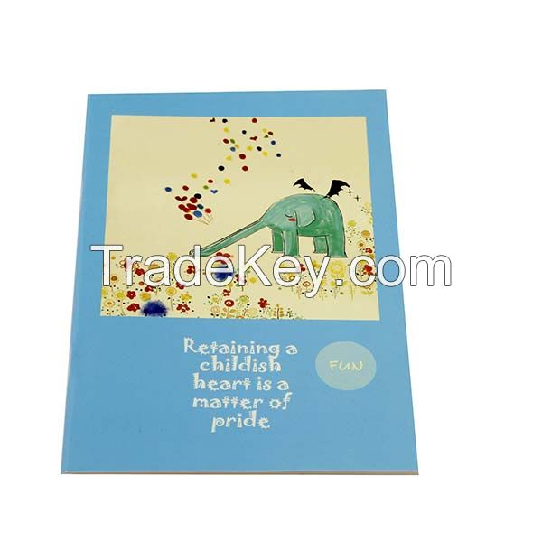 School Supply Student Saddled Stich Exercise Notebook Printing Service