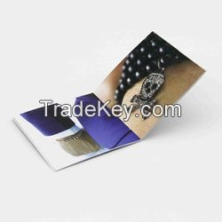 Full Color Custom Paper Booklets Brochures Printing Services Direct Factory