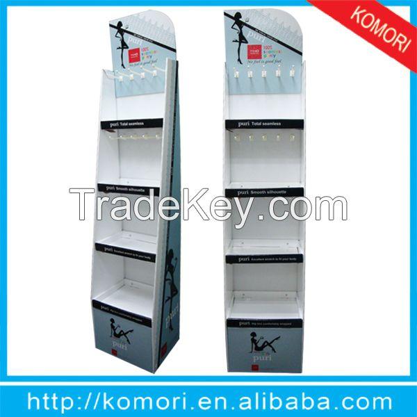Komori recycled cardboard display