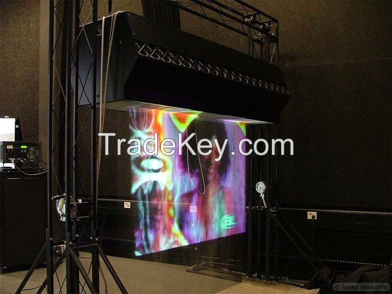 2M downward Laser China Fog screen