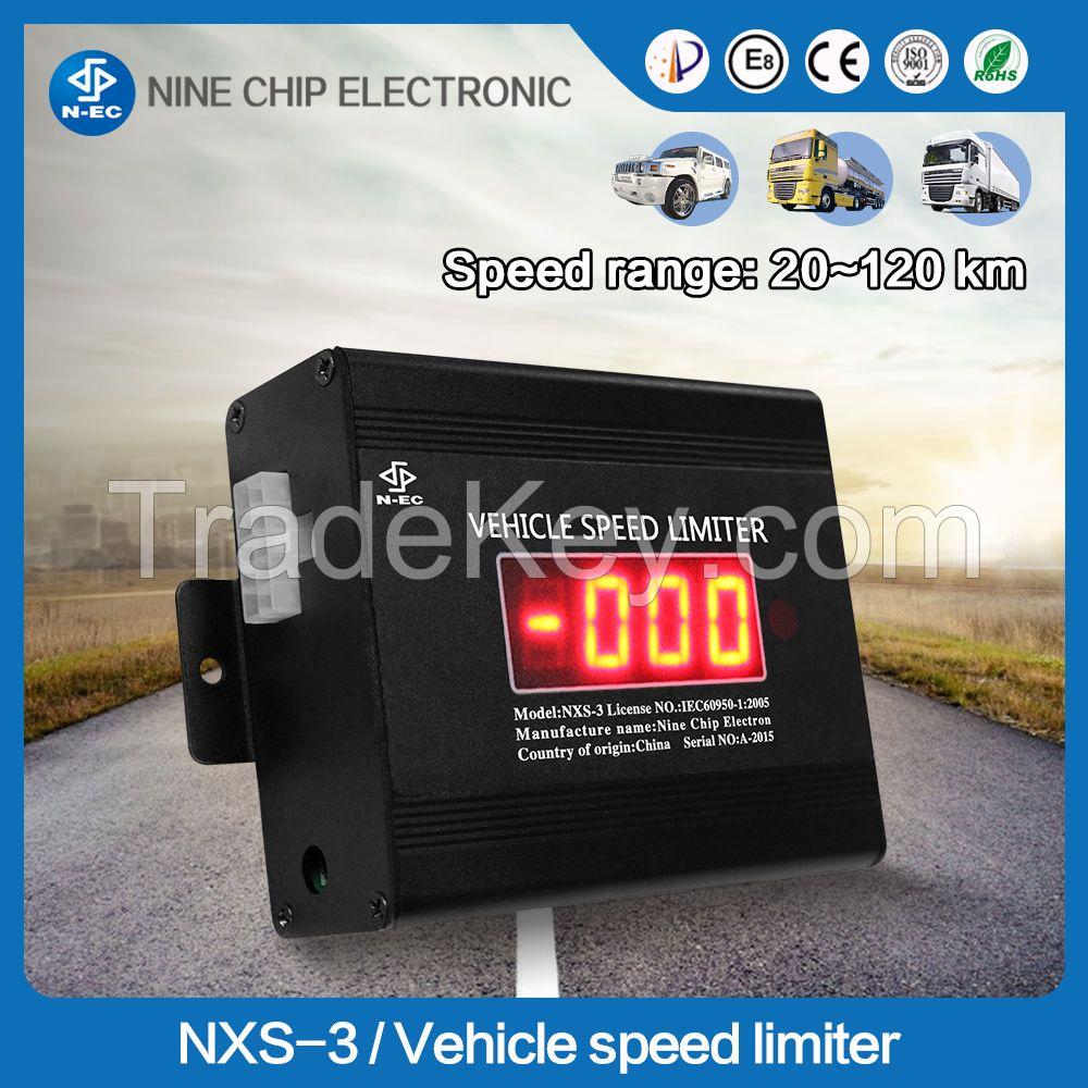 Vehicle speed limiter