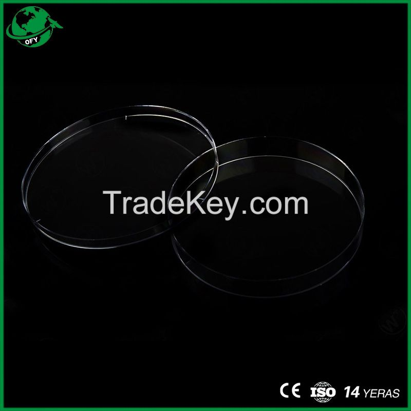 90*15mm Disposable Plastic Petri Dish