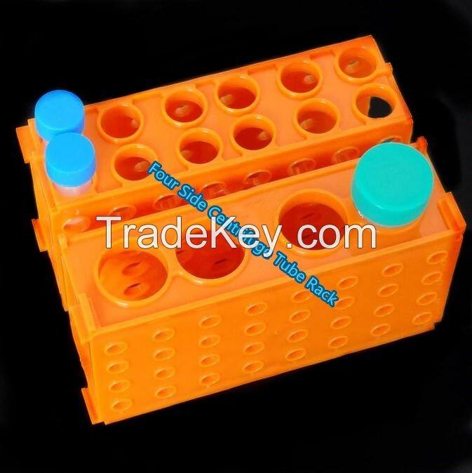Multi-function centrifuge tube rack