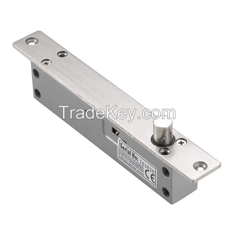 Fail Saf Electric Drop Bolt Lock with Time Delay, 900mA Working Current