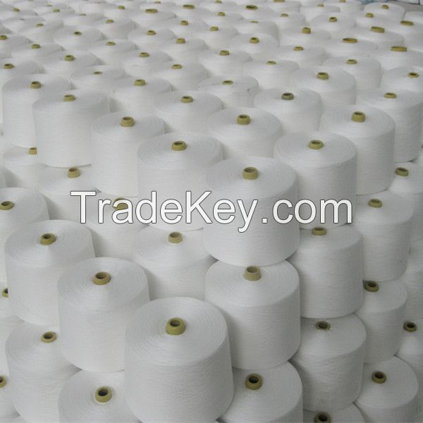 high tenacity raw white polyester sewing thread