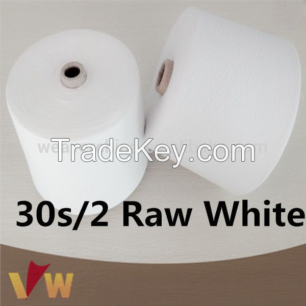 industrial manufacturer 42/2 polyester sewing thread in china