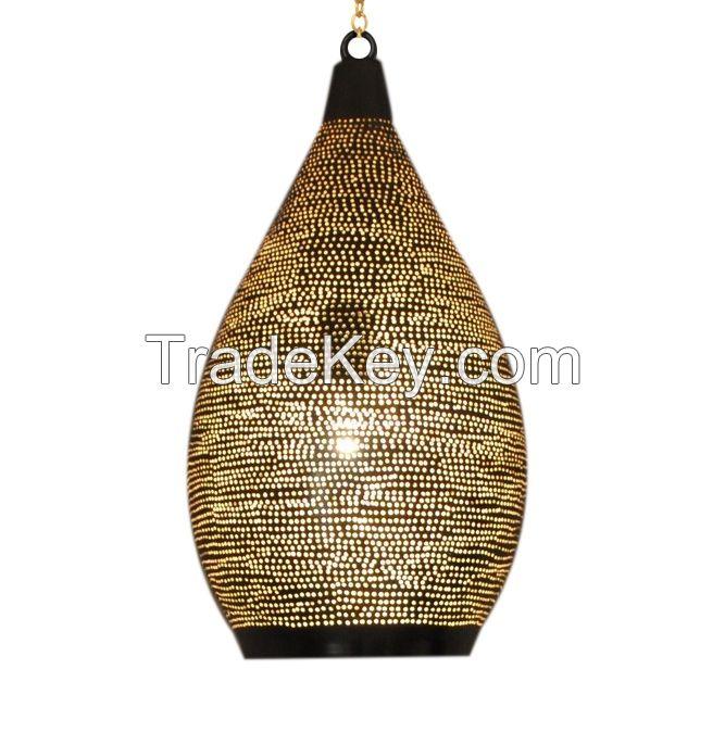 Moroccan Hanging Brass Lamp Lighting