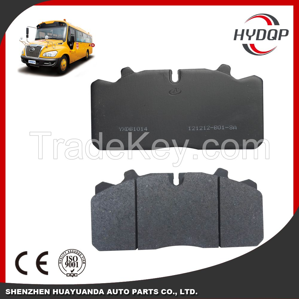 Disc brake pads, brake system, auto brake pad