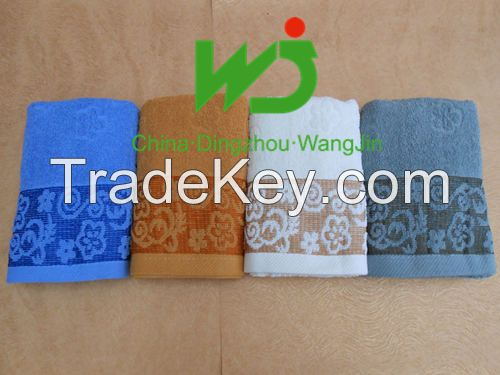 Factory direct sell bath towels 100% cotton low price