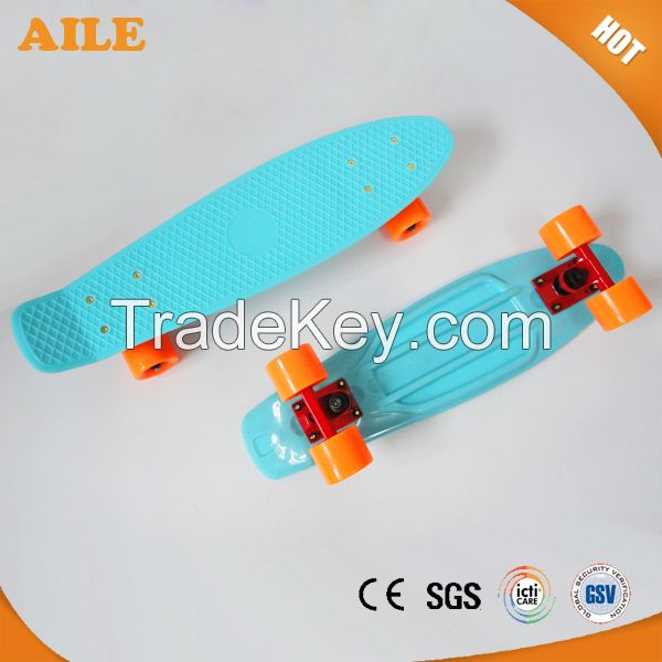 China High Quality New Plastic Long Cruiser Skateboard