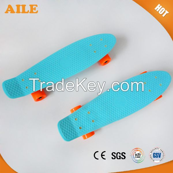 China High Quality New Plastic Long Cruiser Skateboard