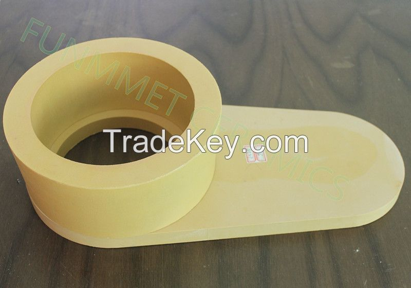 High Purity Zirconia  slide gate plate (Inserts) for steel-making process
