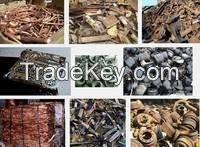 Copper SCRAP,HMS,Used Rail,Metal,Moto Scrap,Vessel,Tyre Wire Scrap,Aluminium Scrap