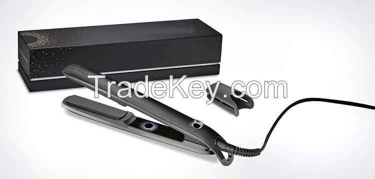 Ceramic Hairstyling Flat Iron straightening irons brush hair straightener with Retail Box free by dhl 2015 new in stock