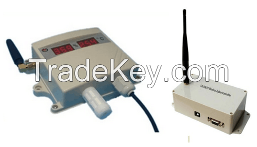 Wireless Temperature Transmitter, LCD Display Temperature Transmitter