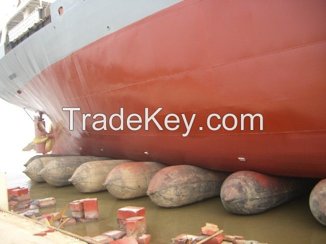 marine airbag for ship launching landing and lifting