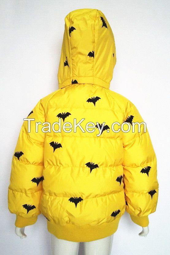 Children cotton-padded jacket